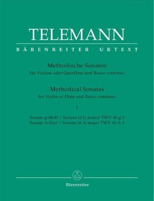 12 Sonates Méthodiques Volume 1 TELEMANN Partition laflutedepan