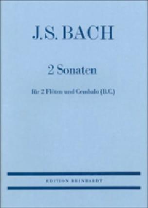 2 Sonaten - 2 Flöten Cembalo Bc - BACH - Partition - laflutedepan.com