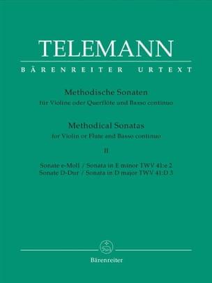 12 Methodische Sonaten Bd. 2 - Flöte Violine u. Bc laflutedepan