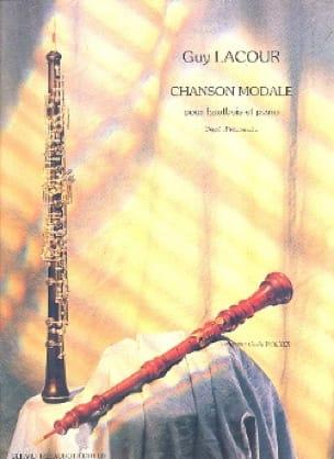 Chanson modale - Guy Lacour - Partition - Hautbois - laflutedepan.com