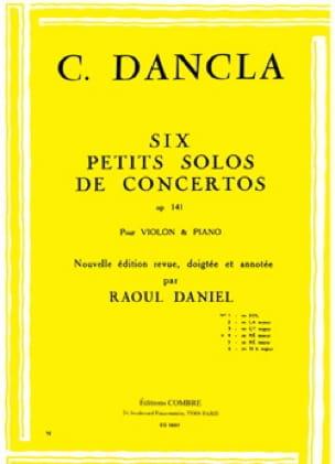 Petit solo de concerto op. 141 n° 4 en Ré mineur - laflutedepan.com