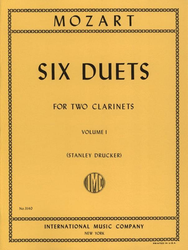 6 Duets - Volume 1 - 2 Clarinets - MOZART - laflutedepan.com