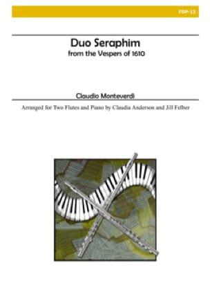 Duo Seraphim - MONTEVERDI - Partition - Trios - laflutedepan.com