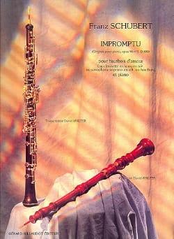 Impromptu op. 90 n° 3 D. 899 -Htb d'amour SCHUBERT laflutedepan