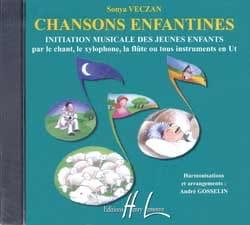 CD - Chansons Enfantines Sonya Veczan Partition laflutedepan