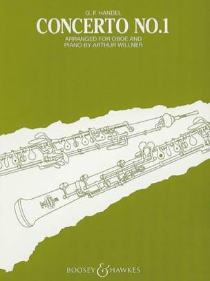 Concerto n° 1 -Oboe piano HAENDEL Partition Hautbois - laflutedepan