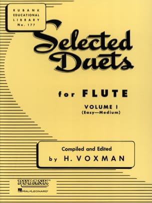 Selected Duets for Flute - Volume 1 Partition laflutedepan