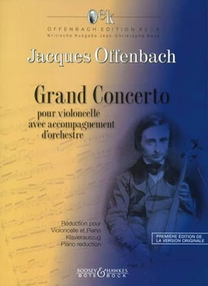 Grand Concerto Concerto Militaire OFFENBACH Partition laflutedepan