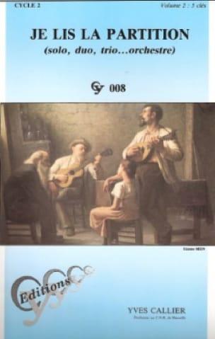 Je lis la partition - Volume 2 - 5 Clés - laflutedepan.com
