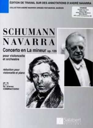 Concerto la mineur op. 129 - Violoncelle - laflutedepan.com