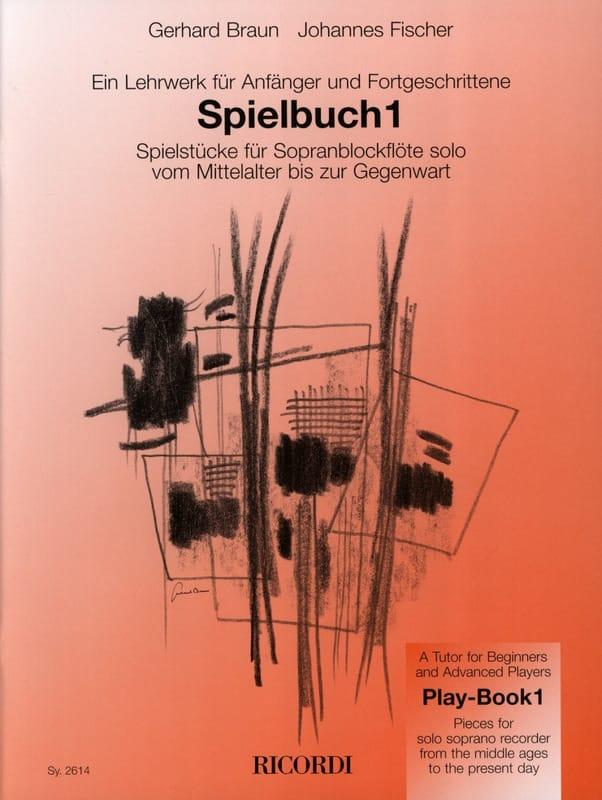 Spielbuch 1 - Sopranblockflöte solo - laflutedepan.com