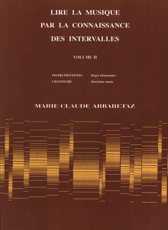 Lire la Musique par la Connaissance des Intervalles Volume 2 - laflutedepan.com