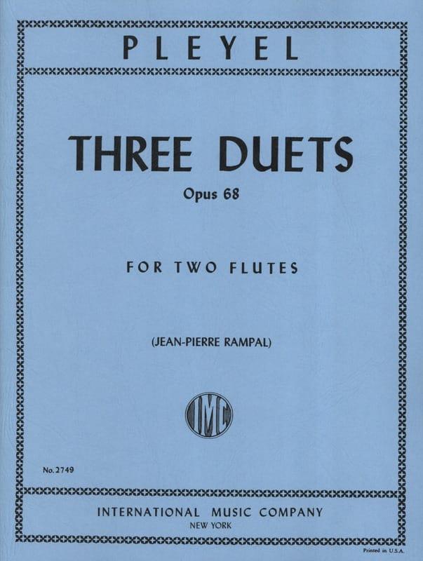 3 Duets op. 68 - 2 Flutes - Ignace Pleyel - laflutedepan.com
