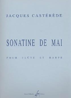 Sonatine de mai Jacques Castérède Partition Duos - laflutedepan
