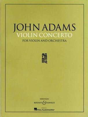 Concerto Violon et orchestre John Adams Partition laflutedepan