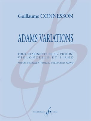 Adams Variations CONNESSON Partition Quatuors - laflutedepan