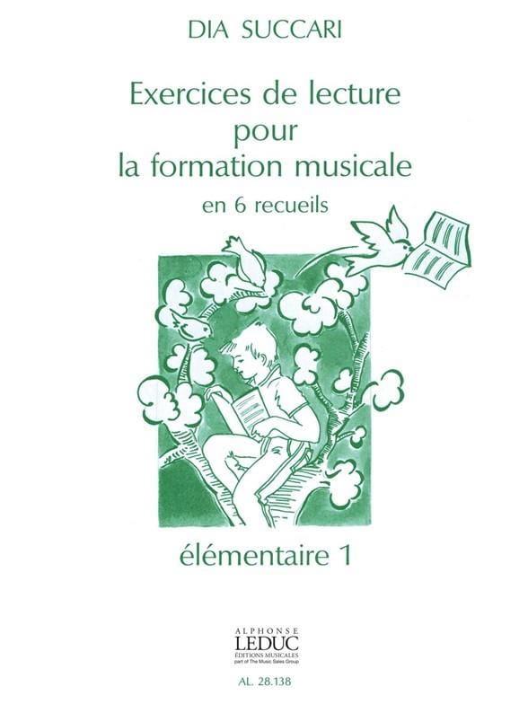 Exercices de Lecture - Elémentaire 1 - Dia Succari - laflutedepan.com