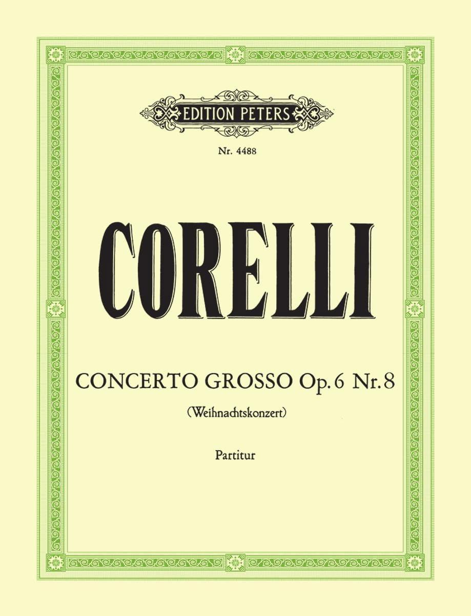 Concerto Grosso op. 6 n° 8 - Conducteur - CORELLI - laflutedepan.com