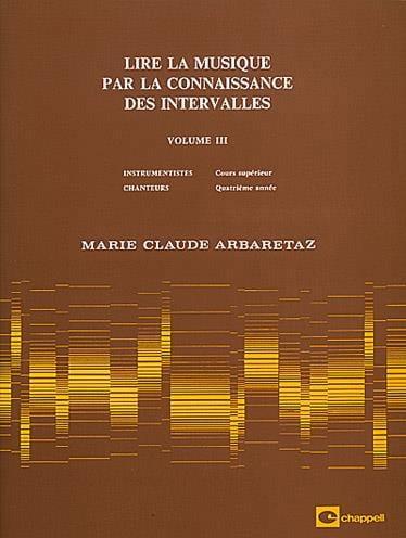 Lire la Musique par la Connaissance des Intervalles Volume 3 - laflutedepan.com
