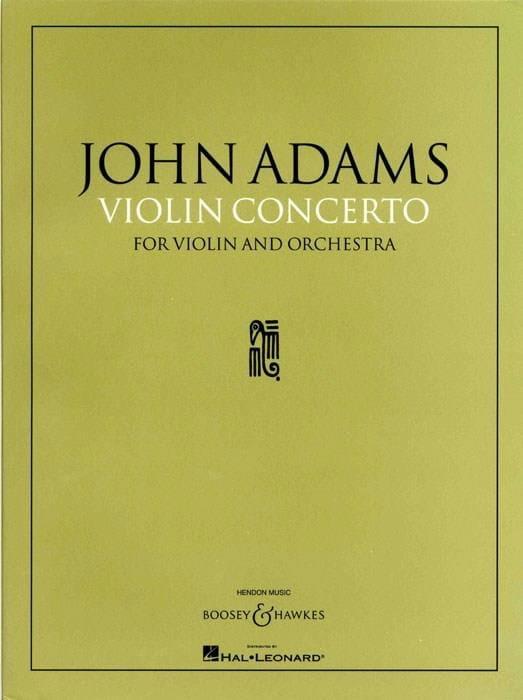 Concerto Violon et orchestre - John Adams - laflutedepan.com