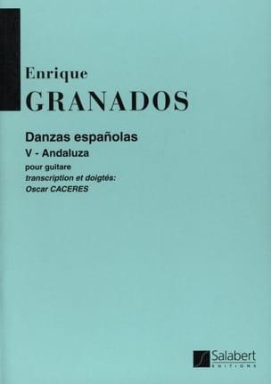 Enrique Granados - Danzas Espanolas Nr. 5: Andaluza - Partition - di-arezzo.de
