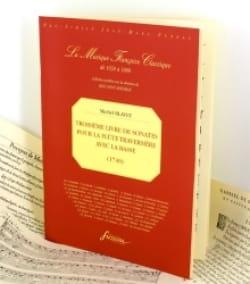 Troisième Livre De Sonates Pour La Flûte Traversière Avec La Basse laflutedepan