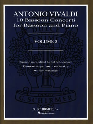 10 Bassoon Concerti - Volume 2 VIVALDI Partition Basson - laflutedepan