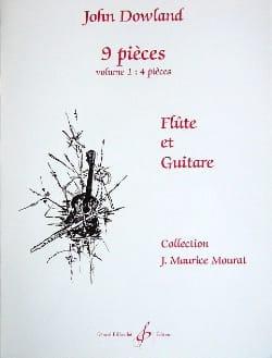 9 Pièces - Volume 1 - Flûte guitare DOWLAND Partition laflutedepan