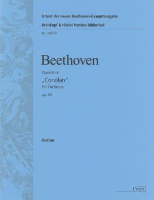 Coriolan Ouverture op. 62 - Partitur BEETHOVEN Partition laflutedepan