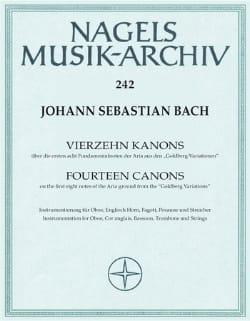 14 Canons BWV 1087 Uber Goldberg Variationen BACH laflutedepan