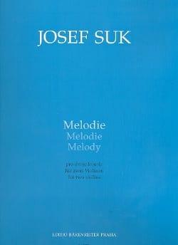 Mélodie Joseph Suk Partition Violon - laflutedepan