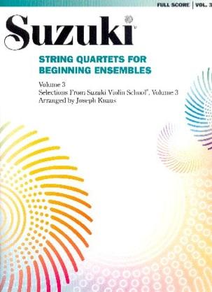 String Quartets For Beginning Ensembles vol 3 laflutedepan