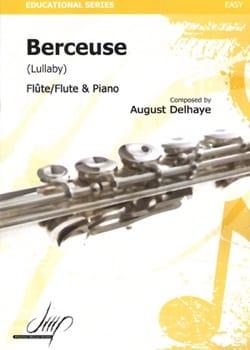 Berceuse August Delhaye Partition Flûte traversière - laflutedepan
