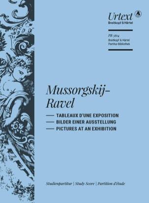 Tableaux d'une Exposition - Conducteur MOUSSORGSKI laflutedepan