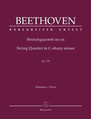 Quatuor à Cordes, opus 131 BEETHOVEN Partition Quatuors - laflutedepan