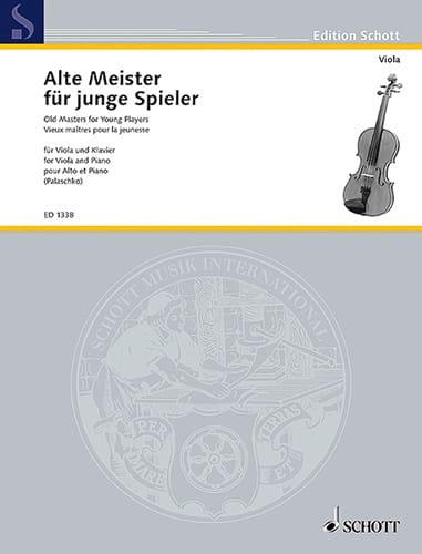 Alte Meister für junge Spieler - Viola - laflutedepan.com