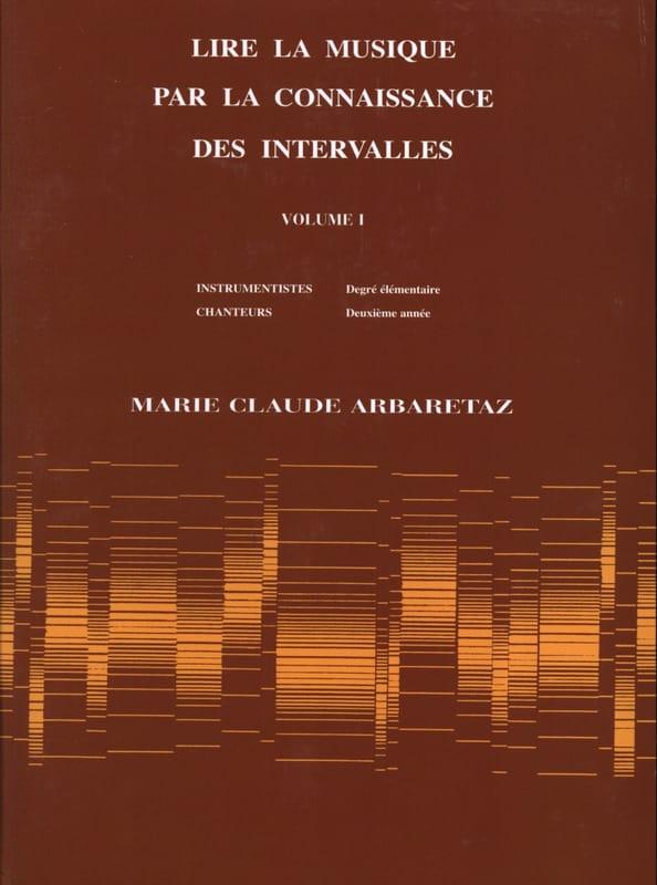 Lire la Musique par la Connaissance des Intervalles Volume 1 - laflutedepan.be