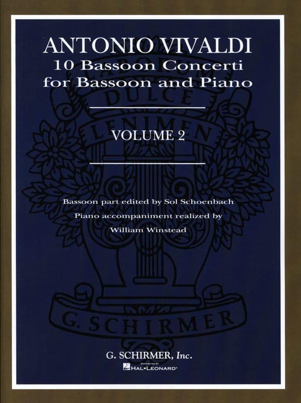 10 Bassoon Concerti - Volume 2 - VIVALDI - laflutedepan.com