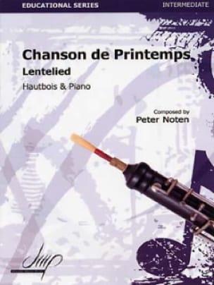Chanson de Printemps - Hautbois et piano - laflutedepan.com
