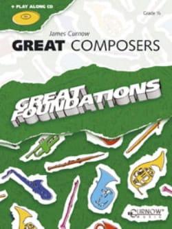 Great Composers - Flute/Oboe James Curnow Partition laflutedepan