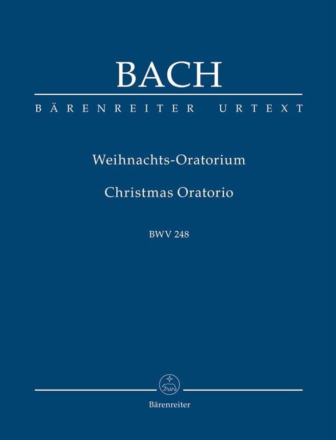 Weihnachtsoratorium. Urtext der Neuen Bach-Ausgabe - laflutedepan.com