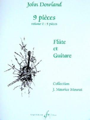9 Pièces - Volume 2 - Flûte et guitare - DOWLAND - laflutedepan.com