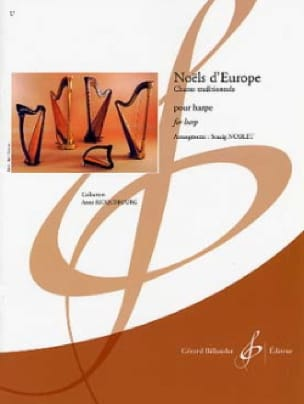 Noëls d'Europe - Partition - Harpe - laflutedepan.com