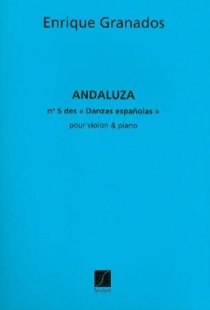 Andaluza Danzas espanolas n° 5 - Violon GRANADOS laflutedepan