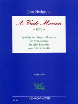 A Vade Mecum 1679 Partition Flûte à bec - laflutedepan