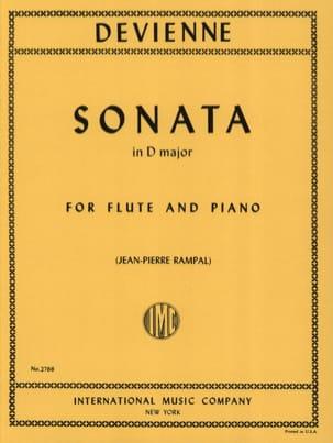 Sonata in D major -Flute piano DEVIENNE Partition laflutedepan