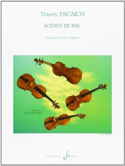 Scènes de Bal Thierry Escaich Partition Quatuors - laflutedepan