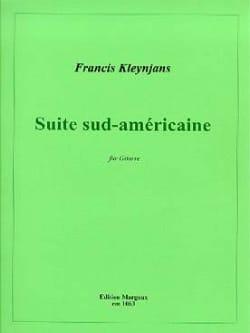 Suite Sud-Américaine en Mi Min. Op 149 Francis Kleynjans laflutedepan