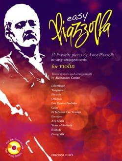 Easy Piazzolla - Violon Astor Piazzolla Partition laflutedepan