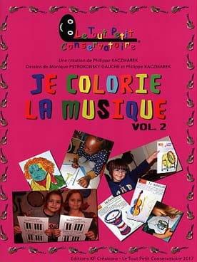 Je colorie la musique - Volume 2 Philippe Kaczmarek laflutedepan